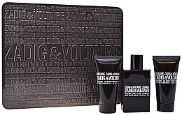 Parfumuri și produse cosmetice Zadig & Voltaire This is Him - Set (edt/50ml + s/g/50ml + s/g/50ml)