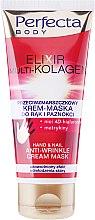 Parfumuri și produse cosmetice Masca-crema pentru mâini - Perfecta Elixir Multi-kolagen Hand Cream Mask