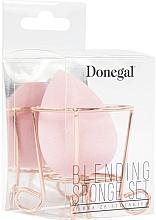 Духи, Парфюмерия, косметика Губка для макияжа с корзинкой, розовая - Donegal