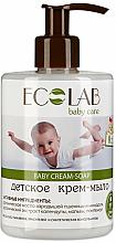 Parfumuri și produse cosmetice Săpun cremă pentru copii - ECO Laboratorie Baby Cream-Soap