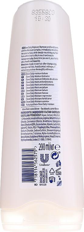 Balsam pentru păr normal - Dove Daily Moisture Conditioner — Imagine N2