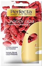 Parfumuri și produse cosmetice Mască facială cu extract de fructe de padure goji - Perfecta