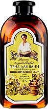 Parfumuri și produse cosmetice Spumant de baie tonifiant - Reţete bunicii Agafia