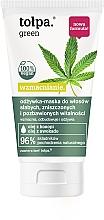 Parfumuri și produse cosmetice Balsam-mască pentru păr slab deteriorat - Tolpa Green Conditioner Mask