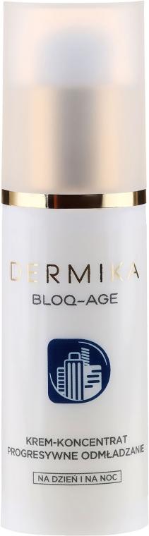 Cremă de față - Dermika Bloq-Age Cream-Concentrate Progressive Rejuvenation — Imagine N2