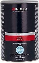 Parfumuri și produse cosmetice Pudră decolorantă, albastră - Indola Profession Rapid Blond+ Blue Dust-Free Powder
