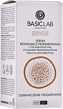 Parfumuri și produse cosmetice Ser împotriva decolorării tenului - BasicLab Esteticus Anti-Discoloration Face Serum