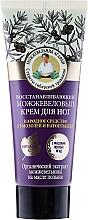 Parfumuri și produse cosmetice Cremă regeneratoare de ienupăr pentru picioare - Reţete bunicii Agafia Juniper Repairing Foot Cream