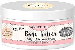 Духи, Парфюмерия, косметика Масло для тела с миндалем и ванилью - Nacomi Body Butter Fluffy Vanilla Creme Brulee