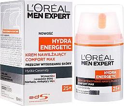 Cremă hidratantă pentru față - L'Oreal Paris Men Expert Hydra Energetic Comfort Max 25+ — Imagine N1