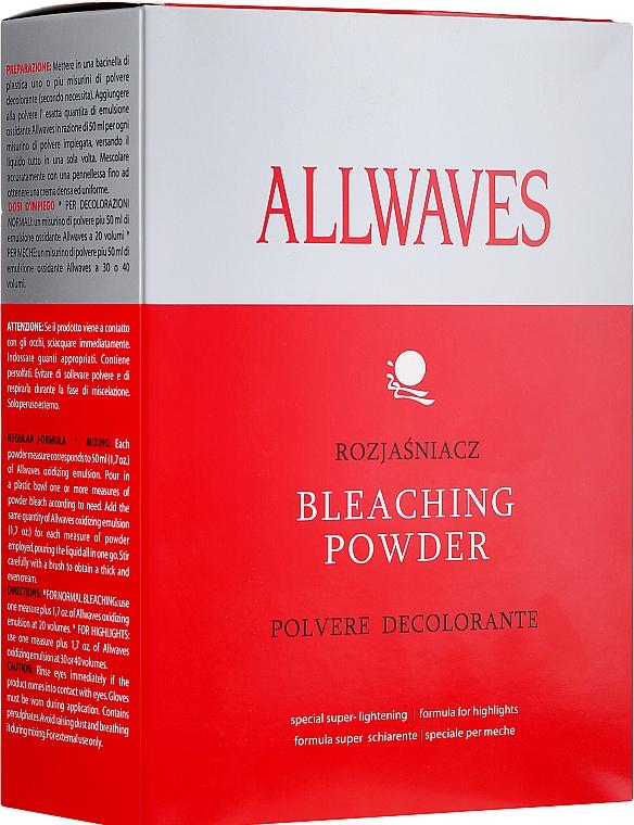 Порошок для осветления волос - Allwaves Bleaching Powder — фото N3