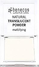 Parfumuri și produse cosmetice Pudră matifiană transparentă pentru față - Benecos Natural Translucent Powder Mission Invisible