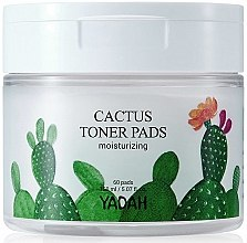 Духи, Парфюмерия, косметика Pad-uri hidratante cu extract de cactus pentru față - Yadah Cactus Moisturizing Toner Pads