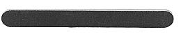 Parfumuri și produse cosmetice Pilă de unghii, neagră, 100/180 - Tools For Beauty Nail File Straight Black