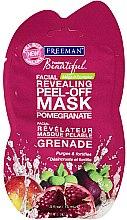 """Parfumuri și produse cosmetice Mască pentru față """"Rodie"""" - Freeman Feeling Beautiful Peeling Facial Mask with Pomegranate (mini)"""