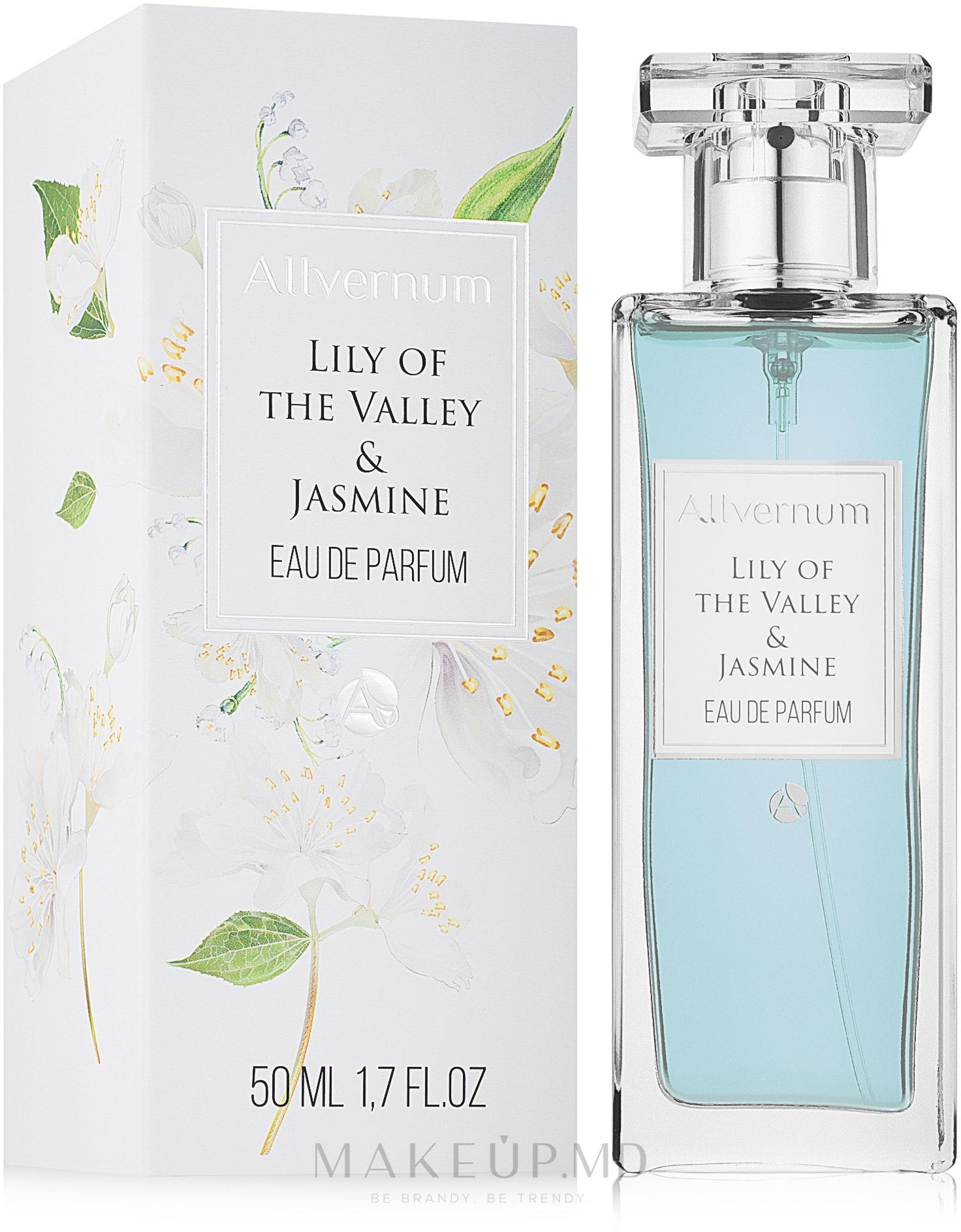 Allvernum Allverne Lily Of The Valley & Jasmine - Apă de parfum — Imagine 50 ml