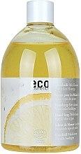 Parfumuri și produse cosmetice Săpun ecologic cu ulei de lamaie (o unitate de schimb fără dozator) - Eco Cosmetics Eco Hand Soap With Lemon