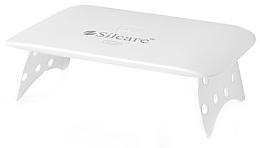 Parfumuri și produse cosmetice Лампа UV/LED, белая - Silcare Mini Plus 24 W UV/LED Lamp White