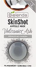 Parfumuri și produse cosmetice Mască de față - Bielenda Skin Shot Volcanic Ash