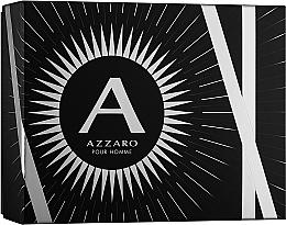 Parfumuri și produse cosmetice Azzaro Pour Homme - Set (edt/100ml + b/shm/100ml + after shave/50ml)