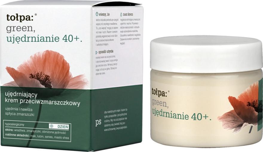 Дневной крем против морщин - Tolpa Green Firming 40+ Rejuvenating Anti-Wrinkle Day Cream — фото N1
