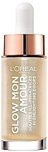 Parfumuri și produse cosmetice Highlighter lichid - L'Oreal Paris Glow Mon Amour