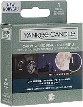 Parfumuri și produse cosmetice Aromatizator auto - Yankee Candle Car Powered Aromat Refill Midsummer's Night
