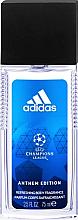 Parfumuri și produse cosmetice Deodorant spray natural - Adidas Anthem Edition UEFA Body