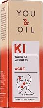 Parfumuri și produse cosmetice Amestec de uleiuri esențiale - You & Oil KI-AcneTouch Of Welness Essential Oil