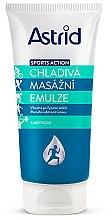 Parfumuri și produse cosmetice Emulsie pentru masaj - Astrid Sports Action Cooling Massage Cream