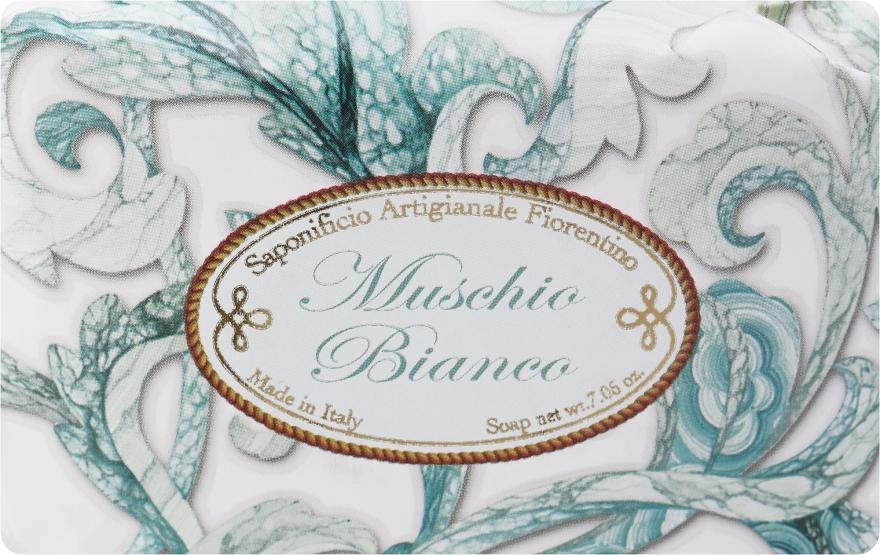 "Săpun de toaletă ""Mosc alb"" - Saponificio Artigianale Fiorentino White Musk — Imagine N1"