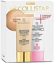 Parfumuri și produse cosmetice Set - Collistar Deep Moisturizing Mou (foundation/30ml + cr/25ml)