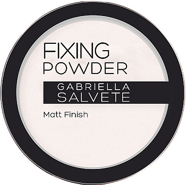 Фиксирующая пудра - Gabriella Salvete Fixing Transparent Powder