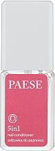 Parfumuri și produse cosmetice Уход-Лечение для ногтей Укрепитель 5 в 1 - Paese Treatments 5 in 1