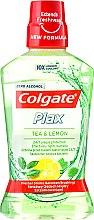 """Parfumuri și produse cosmetice Apă de gură """"Ceai și Lămâie"""" - Colgate Plax Tea&Lemon"""