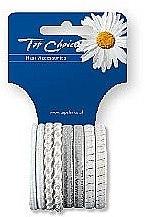 Parfumuri și produse cosmetice Elastice de păr 8 bucăți, 22104 - Top Choice
