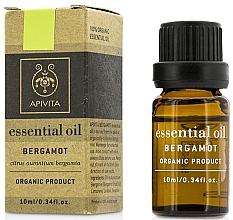 """Parfumuri și produse cosmetice Ulei esențial """"Bergamotă"""" - Apivita Aromatherapy Organic Bergamot Oil"""