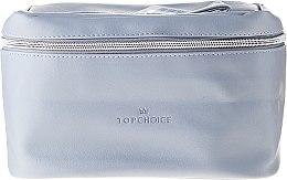 """Parfumuri și produse cosmetice Trusă cosmetică """"Leather"""", 24x14x13.5 cm, 96990 - Top Choice"""