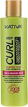 Cremă-gel de păr pentru vârfuri - Kativa Keep Curl Superfruit Active — Imagine N2