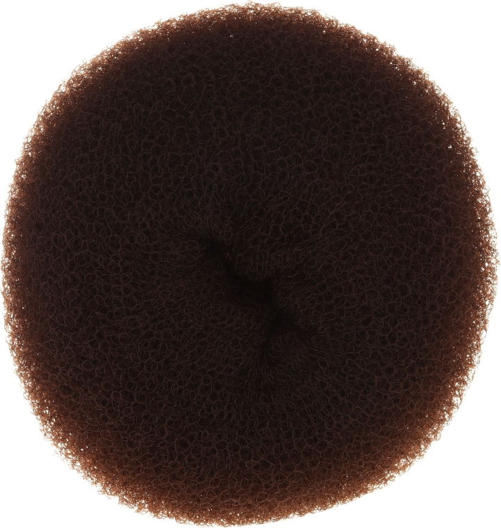 Burete pentru coc, 15 x 6,5 cm, maro - Ronney Professional Hair Bun 053 — Imagine N1