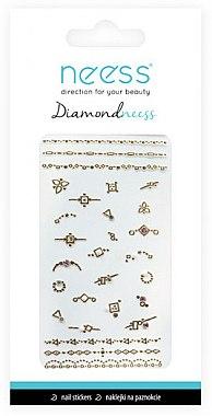 Nail Art Stickers, 3712 - Neess Diamondneess — Imagine N1