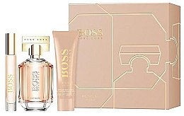 Parfumuri și produse cosmetice Hugo Boss The Scent For Her - Set (edp/50ml + edp/7.4ml + b/lot/50ml)