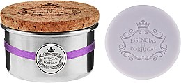 Parfumuri și produse cosmetice Săpun natural - Essencias De Portugal Tradition Aluminum Jewel-Keeper Lavender
