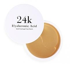 Parfumuri și produse cosmetice Patch-uri de hidrogel cu acid hialuronic - Skin79 Hyaluronic Acid Gold Hydrogel Eye Patch