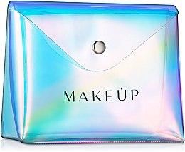 """Parfumuri și produse cosmetice Trusă cosmetică """"Holographic"""", 16x13x6cm, transparentă - MakeUp"""