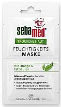 Mască pentru ten uscat - Sebamed Trockene Haut Moisture Omega 6 Mask — Imagine N1