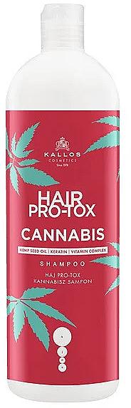 Șampon cu ulei de semințe de cânepă - Kallos Pro-tox Cannabis Shampoo