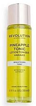 Parfumuri și produse cosmetice Tonic pentru față - Revolution Skincare Brightening Pineapple Tonic
