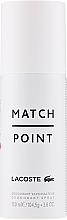 Parfumuri și produse cosmetice Lacoste Match Point - Deodorant