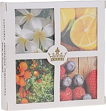 Parfumuri și produse cosmetice Set - Essencias De Portugal Senses Collection Set#4 (soap/4x50g)